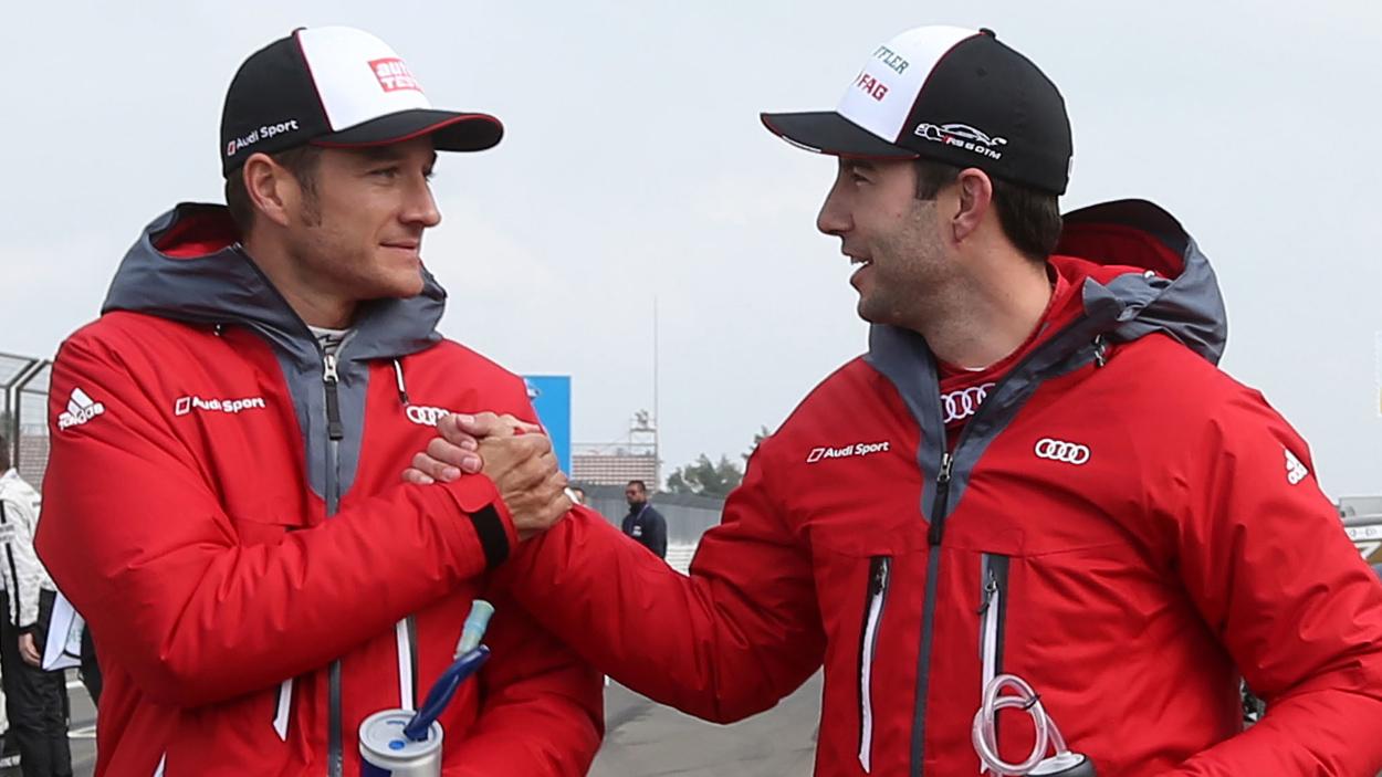 DTM Piloten Mike Rockenfeller und Timo Scheider starten bei
