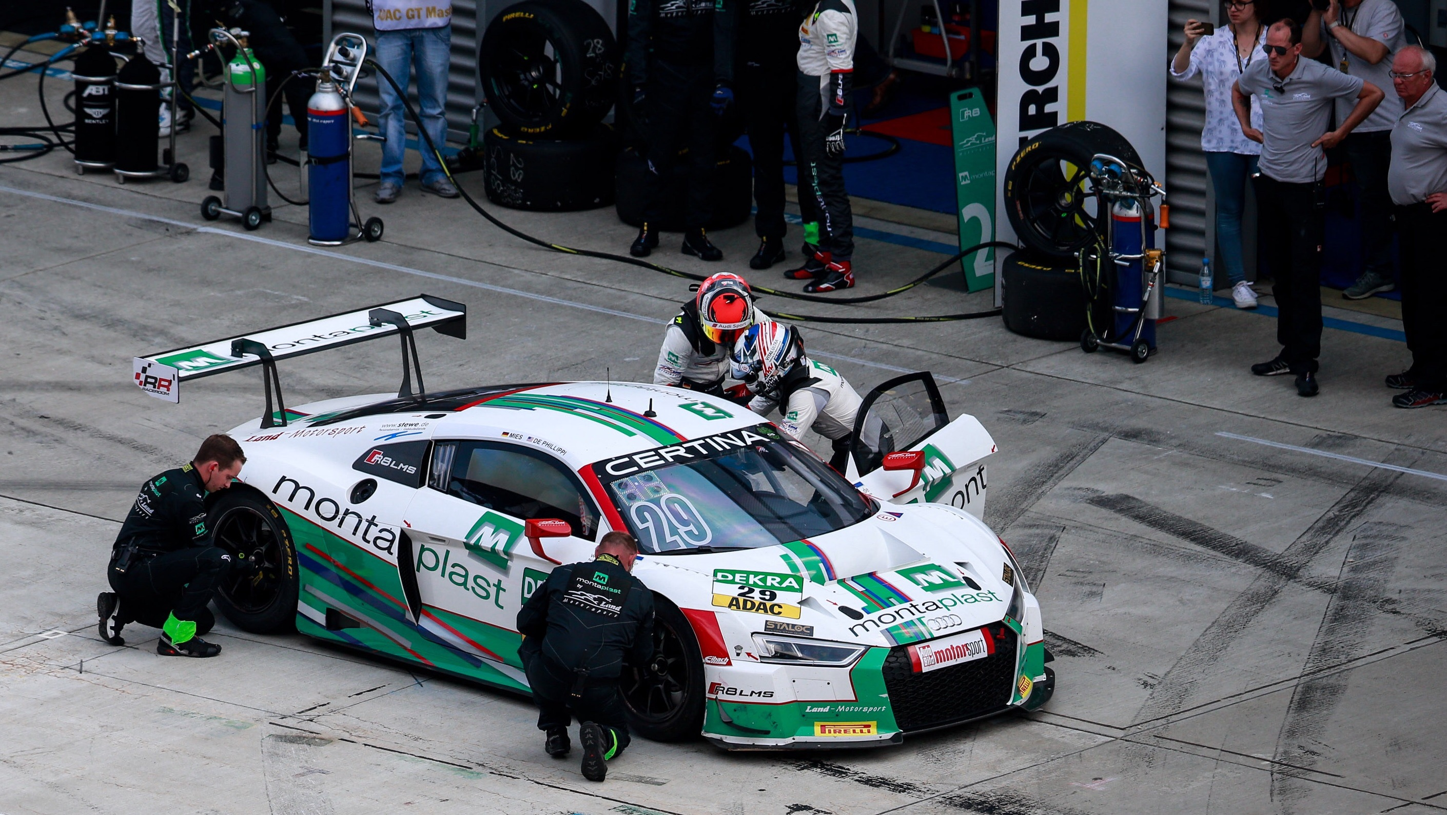ADAC GT Masters - 3. Event 2016 - Lausitzring, GER - Foto: Gruppe C